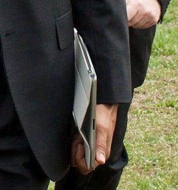 Obama utilise un iPad