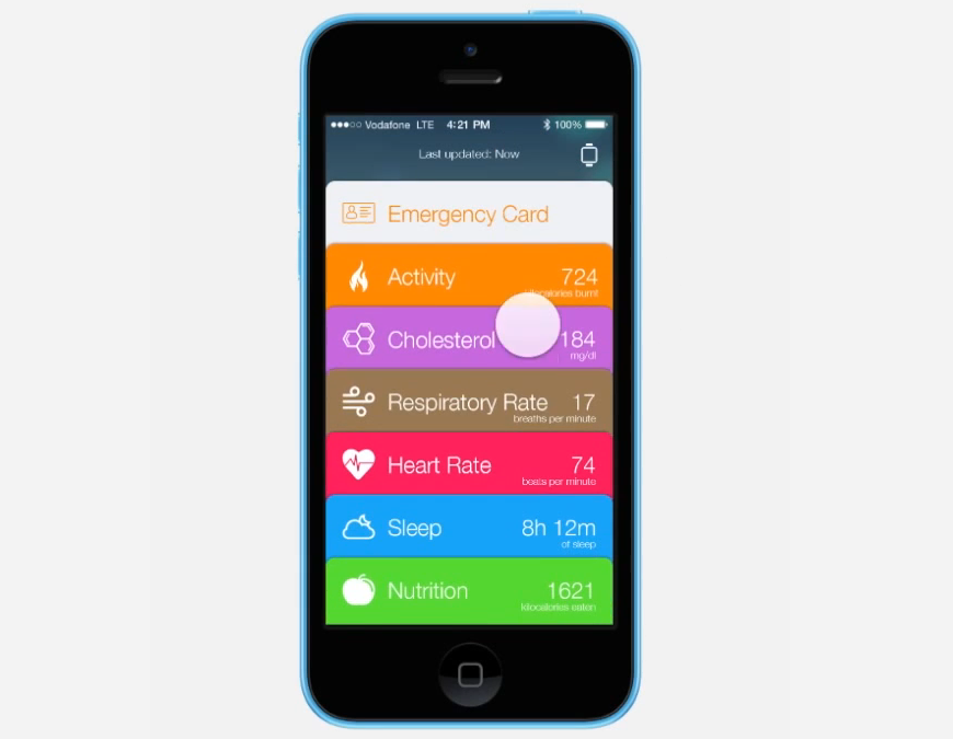 Healthbook-iPhone-iOS-8