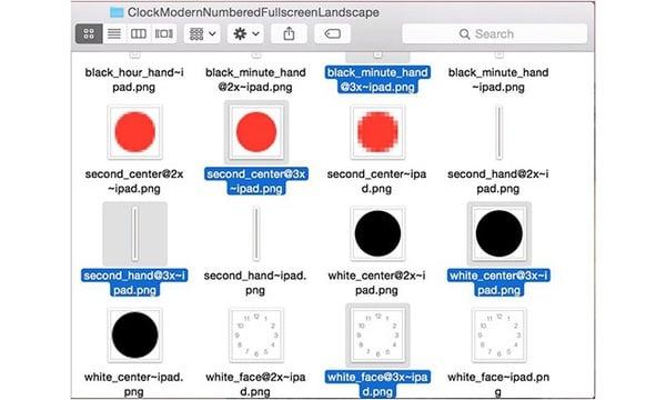 iOS 8 bêta 1 fichiers