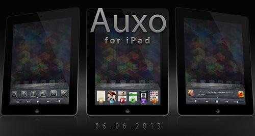 Auxo iPad : sortie le 6 juin 2013