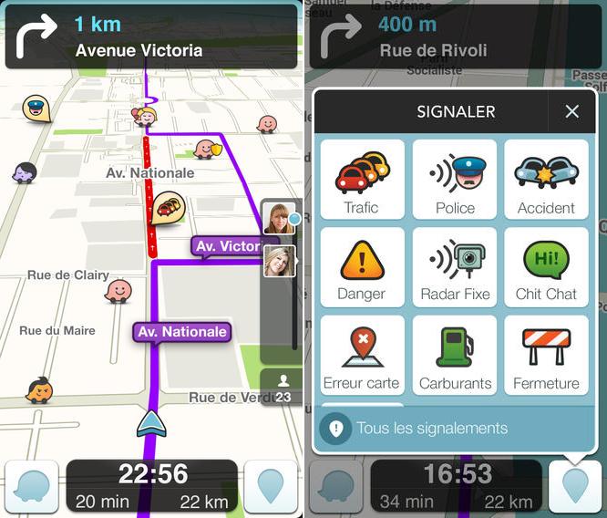 Waze : suppression des alertes radars et de la police