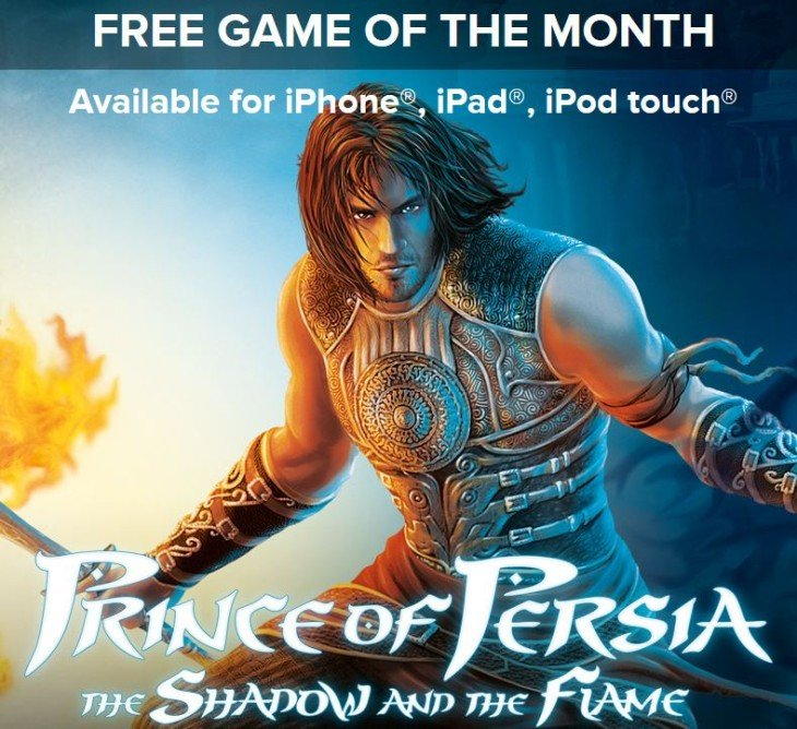 Prince of Persia The Shadow and the Flame gratuit un mois sur l'App Store
