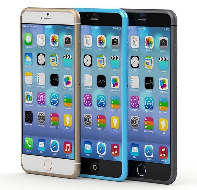 iPhone 6 : de nouveaux rendus de modèles 6S et 6C