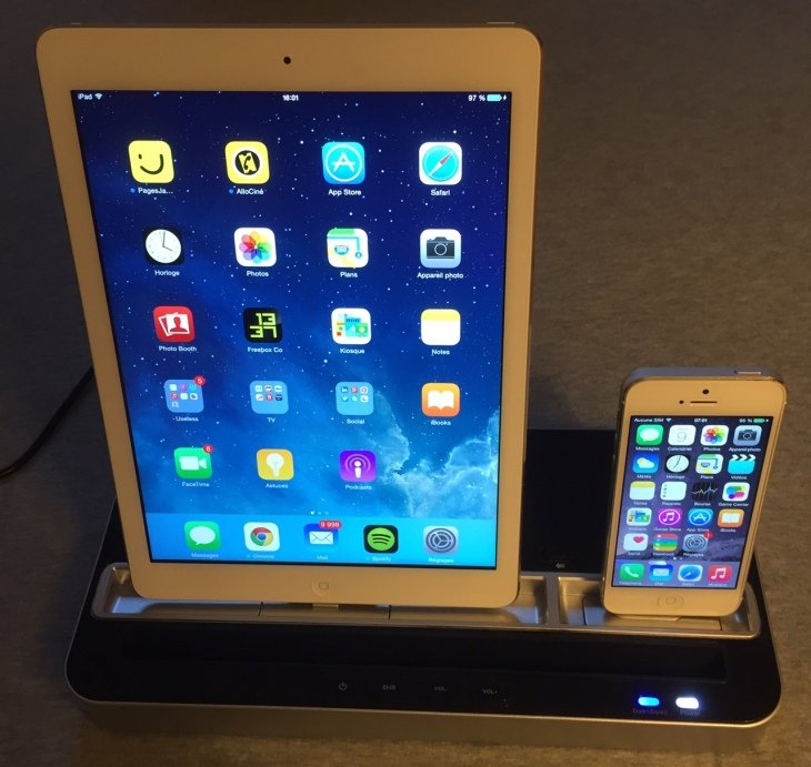 Test : Dock & enceinte iPhone, iPad, iPod Touch par iPhony