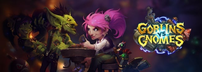 Hearthstone : l'extension Goblins vs Gnomes disponible