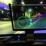 CES 2015 : SenseHUD transforme l'iPhone en GPS amélioré sur le pare-brise