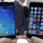 iPhone 6 vs Galaxy S6 : vidéo comparative
