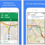 Google Maps iOS : affichage en plein écran & résultats plus rapides