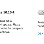 Mac : OS X Yosemite 10.10.4 bêta 1 disponible