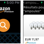 Apple Watch : l'application Amazon est disponible