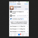 Jailbreak iOS 8.3 : Cydia mise à jour en version 1.1.17