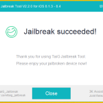 Tutoriel : Jailbreak iOS 8.4, 8.3, 8.2, 8.1.3 iPhone, iPad & iPod Touch (TaiG – Windows)