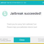 Tutoriel : Jailbreak iOS 8.4, 8.3, 8.2, 8.1.3 iPhone, iPad & iPod Touch (TaiG – Windows)