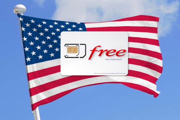 Free Mobile propose le roaming depuis les États-Unis