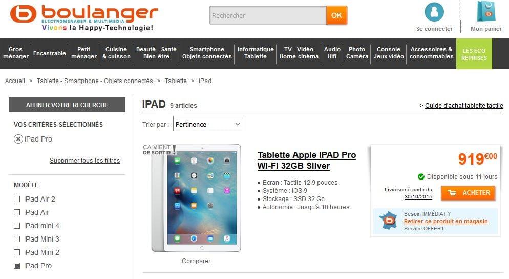 iPad-Pro-Boulanger-precommander