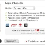 Free Mobile propose de louer l'iPhone 6S