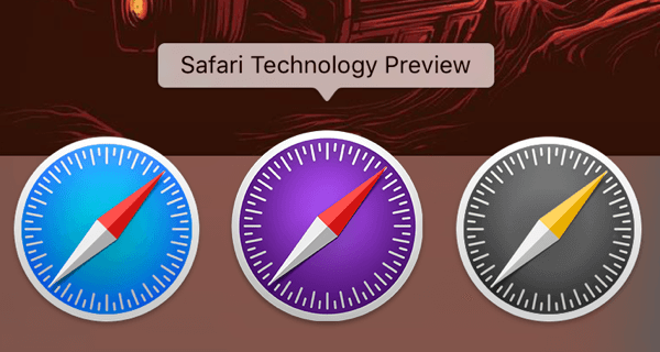 Safari Technology Preview : Apple relâche la 18e version