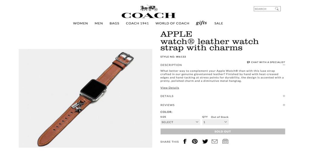 bracelets-coach-apple-watch-fuite