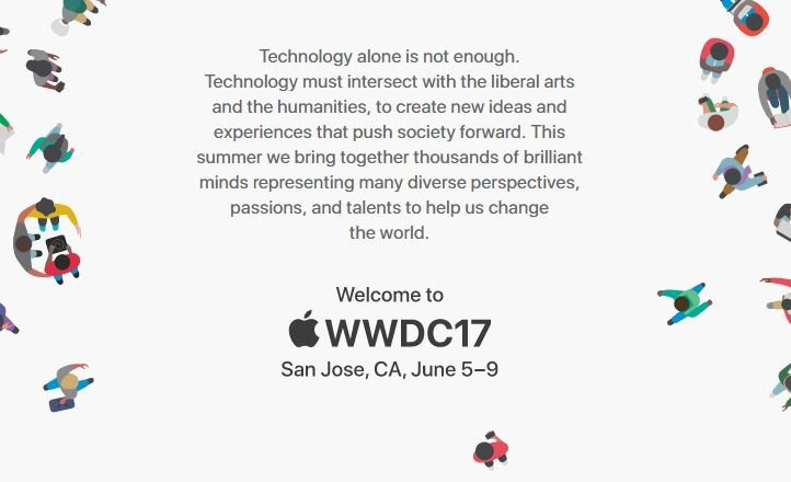Apple officialise la WWDC 2017 (iOS 11, mac OS 10.13, …)