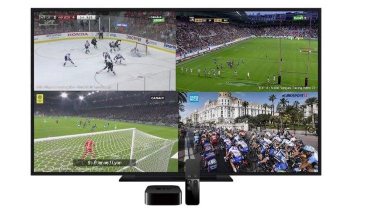 myCANAL : regardez jusqu'à 4 chaînes simultanément sur l'Apple TV