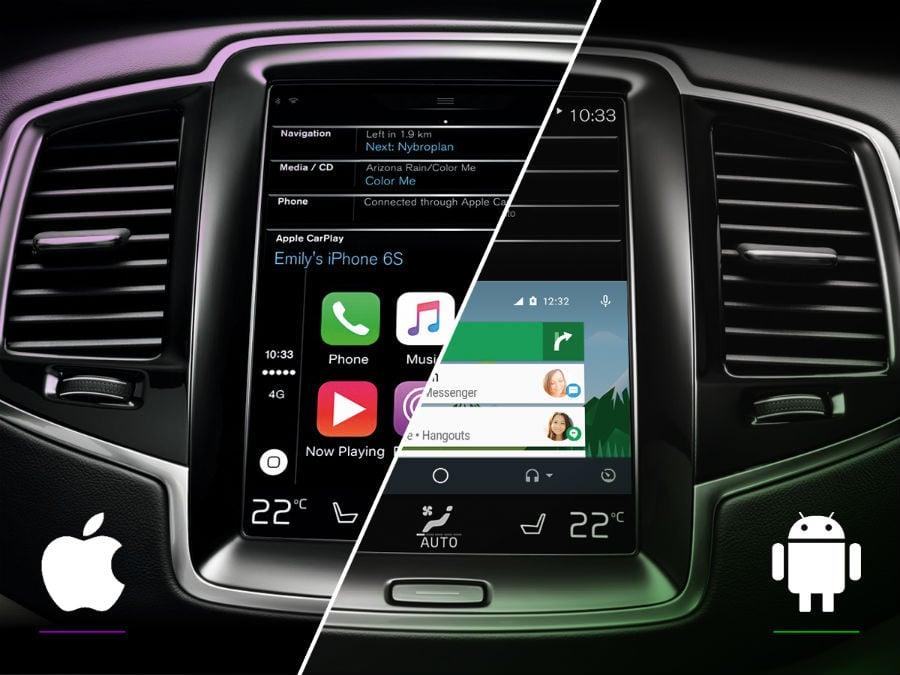 android auto vs apple carplay - CarPlay vs Android Auto : Apple doit encore améliorer Siri
