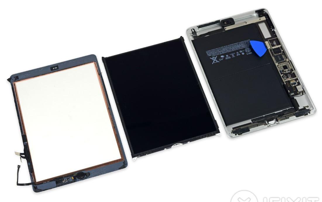 ipad 9 7 pouces 2017 ifixit demontage - iFixit : l'iPad 9,7 pouces (2017) aussi difficile à réparer que l'iPad Air