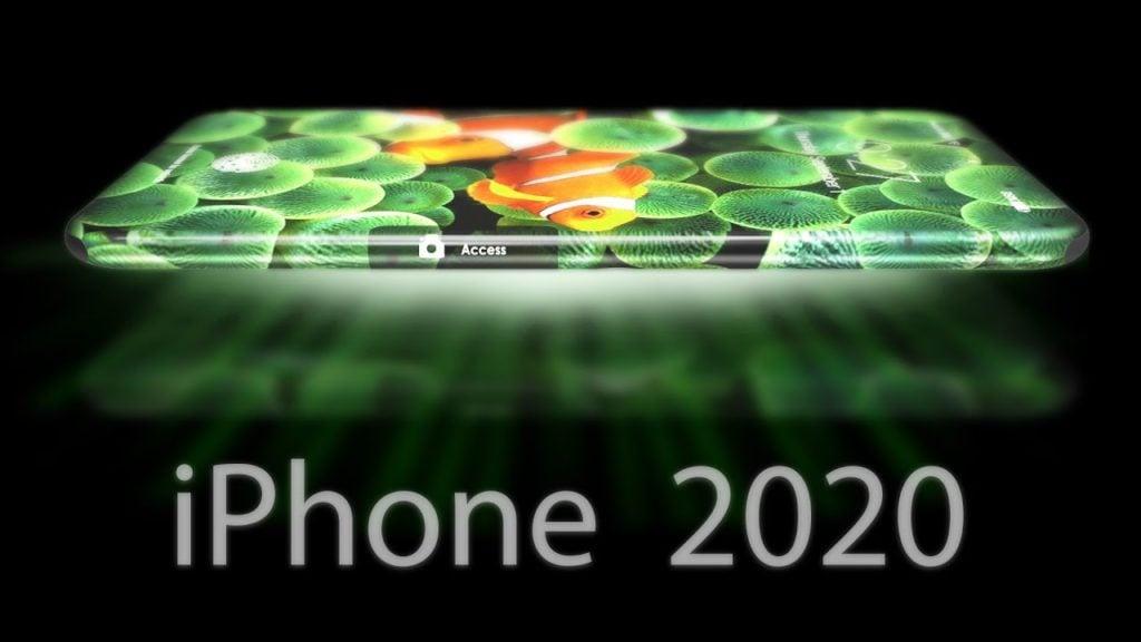 iphone 2020 concept apple 1024x576 - Concept : un écran à 360° sur l'iPhone de 2020 ?