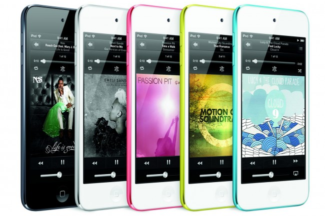 iPod touch 5G - Apple : 100 millions d'iPod Touch vendus