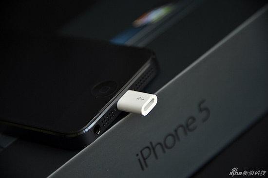 iPhone 5 Adaptateur Lightning vers Micro USB Chine - Apple : bientôt un chargeur universel ?