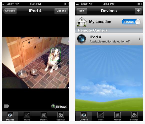 presence - Presence : Et l'iPhone devient caméra de surveillance