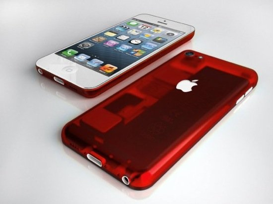 iPhone-low-cost-transparent-rouge