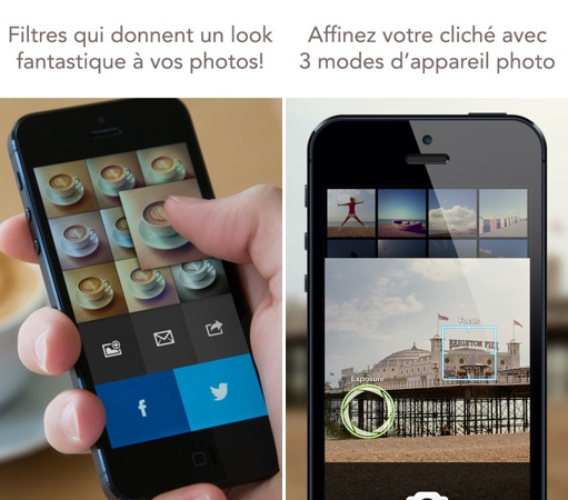 Analog camera - Analog Camera : une nouvelle application photos iPhone