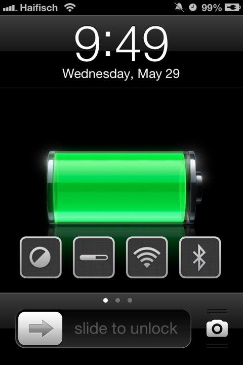 locktoggle - LockToggle : des raccourcis de réglages sur le lockscreen