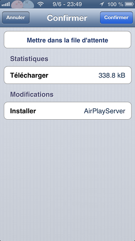 airplayserver confirmer