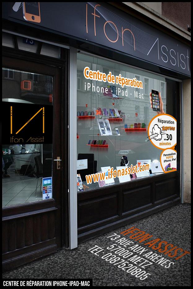 ifonassist boutique metz - iFonAssist : réparation iPhone, iPad & Mac