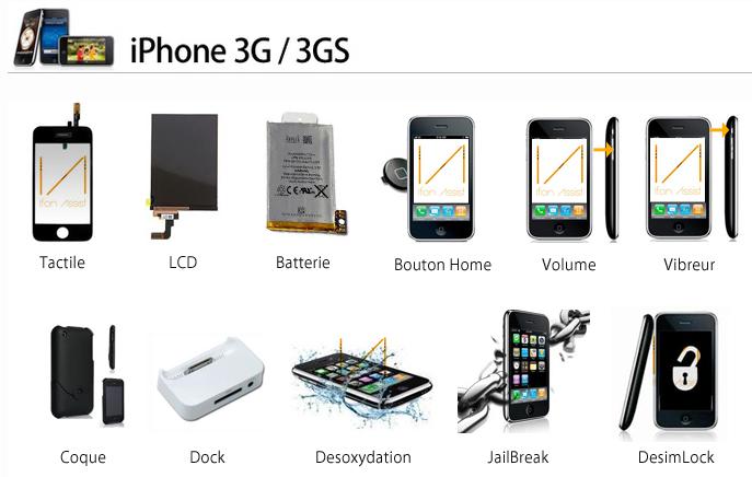 ifonassist reparations iphone 3g 3gs - iFonAssist : réparation iPhone, iPad & Mac