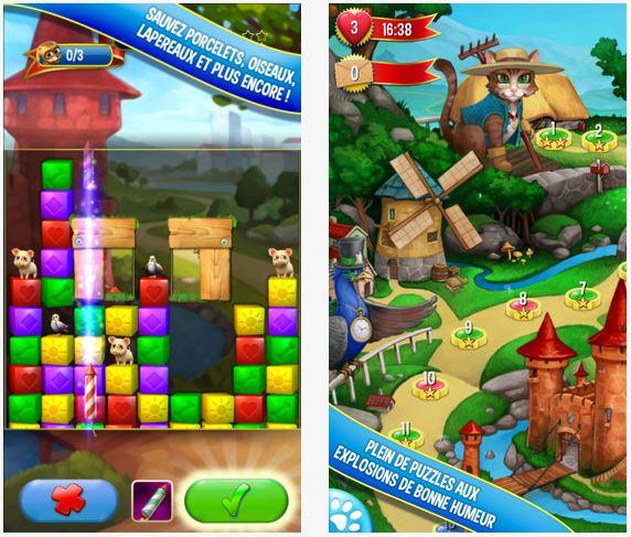 pet rescue saga iphone - Pet Rescue Saga : le successeur de Candy Crush sur l'App Store