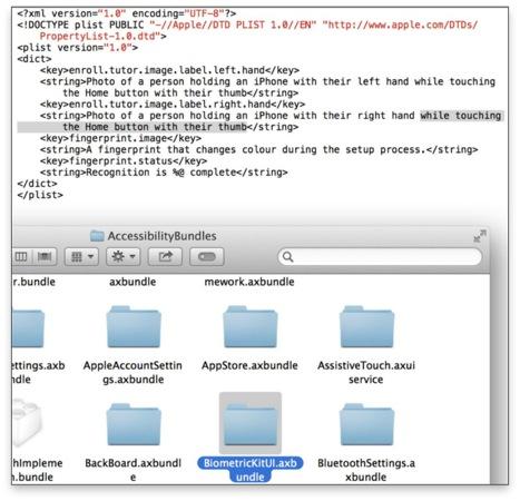 iOS 7 lecteur d empreintes - iPhone 5S : lecteur d'empreintes confirmé par iOS 7 ?