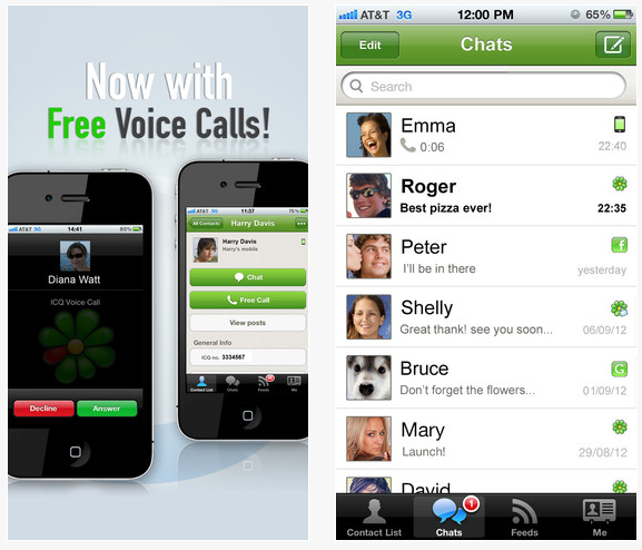 icq ios iphone - Mac App Store : ICQ est disponible