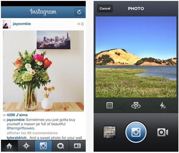 instagram 4.0.2 - Vine et Instagram : deux nouvelles mises à jour