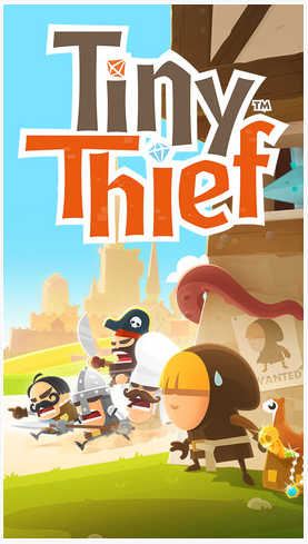 tiny thief - Tiny Thief de Rovio disponible sur l'App Store