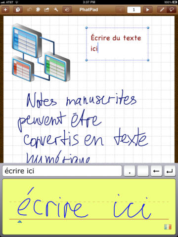 phatpad notes - PhatPad : la prise de notes professionnelle sur iPad