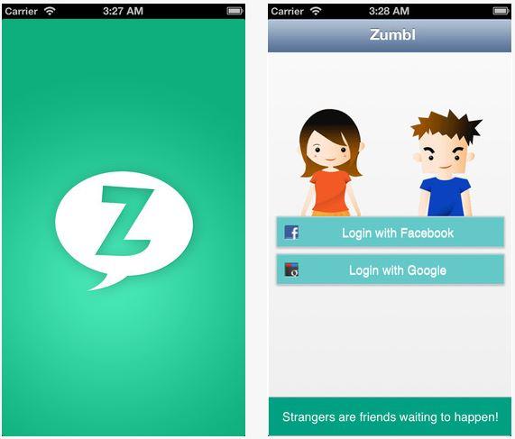 zumbl - Chatroulette iPhone : Top 5 des applications gratuites de l'App Store