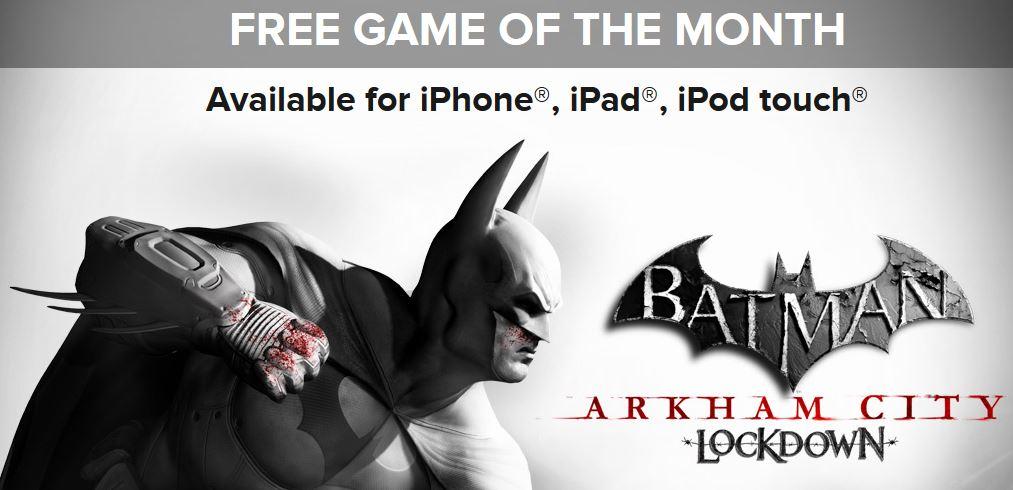 Batman Arkham City Lockdown gratuit - Batman Arkham City Lockdown gratuit un mois sur l'App Store