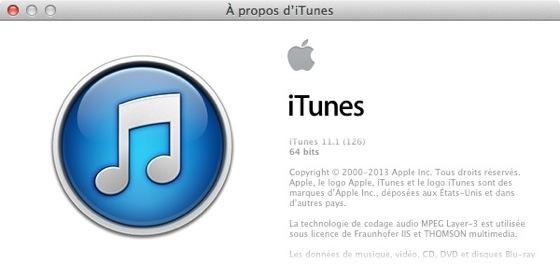 iTunes 11.1 - iTunes 11.1 disponible : Radio iTunes et synchronisation iOS 7