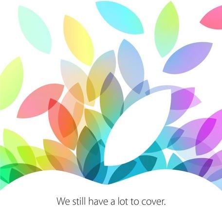Keynote 22 octobre carton invitation - Apple : Keynote le 22 octobre confirmée