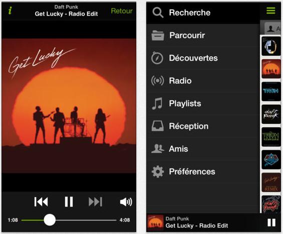 spotify ios 7 - App Store : Spotify ajoute la compatibilité iOS 7