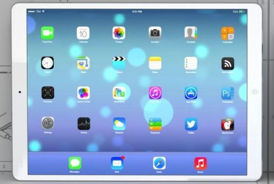 ipad 13 pouces - iPad : écran 12,9 pouces UHD et sortie début 2014 ?