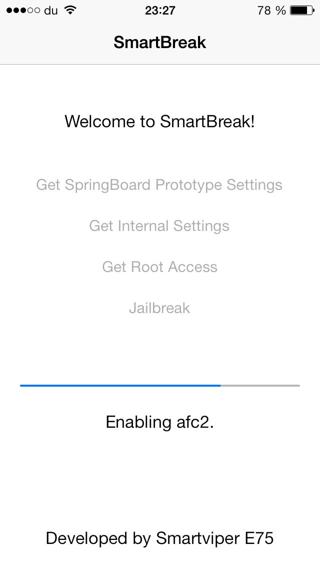 smartbreak ios 7 - SmartBreak : jailbreak iOS 7 iPhone 5 imminent ?