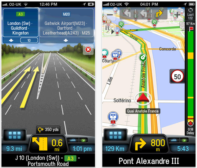 CoPilot Live Premium Europe HD - CoPilot Live Premium Europe : un excellent GPS iPhone & iPad